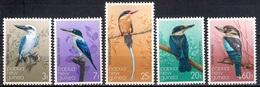 Papua New Guinea 1981 - Kingfishers - Birds Mint - Papúa Nueva Guinea