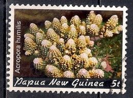 Papua New Guinea 1982 - Corals - Papúa Nueva Guinea