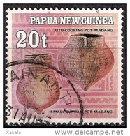 Papua New Guinea 1982 - Native Pottery - Papúa Nueva Guinea