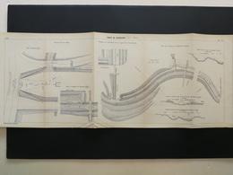 ANNALES DES PONTS Et CHAUSSEES (DEP 55)  - Rigole De Vaucouleurs 1909 (CLD38) - Travaux Publics