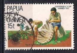Papua New Guinea 1983 - Commonwealth Day - Papúa Nueva Guinea