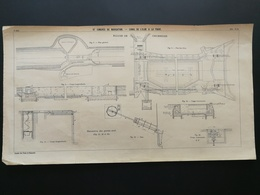 ANNALES DES PONTS Et CHAUSSEES - IXe Congrès De Navigation. Canal De L'elbe A La Trave 1903 (CLD39) - Travaux Publics