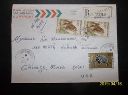 Niger: 1974 Rgt. Air Cover To USA (#CQ7) - Niger (1960-...)