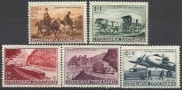 YU 1939-370-4 DAY OF POST, YUGOSLAVIA, 1 X 5v, * - 1931-1941 Königreich Jugoslawien