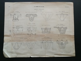 ANNALES DES PONTS Et CHAUSSEES - Les Tramways Aux états-unis - Imp. L Courier 1896 (CLD42) - Travaux Publics