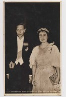 AI29 Royalty - Their Majesties King George VI And Queen Elizabeth - RPPC - Royal Families