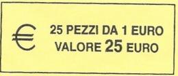 ITALIA  2018 - ROLL  1 EURO  ORIGINALE ZECCA - DATA VISIBILE - FDC - Rotolini