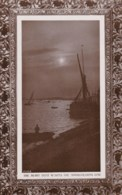 AM07 RPPC - Harbour Scene At Dusk - Photographs