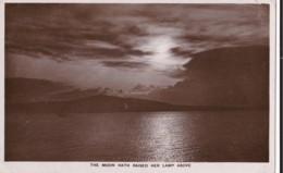 AM07 RPPC - Sea Or Lake Scene By Moonlight - Photographs