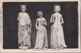 AM07 Art - Statues Of Charles V, Jeanne D'Armagnac And Jeanne De Boulgone - Sculptures