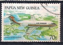 Papua New Guinea 1987 - Aircrafts In Papua New Guinea - Papúa Nueva Guinea