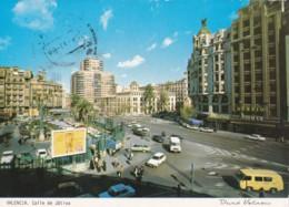 AO71 Valencia, Calle De Jativa - Animated Street Scene - Valencia