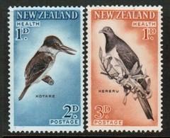 NEW ZEALAND  Scott # B 59-60* VF MINT LH (Stamp Scan # 488) - New Zealand