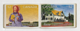 Canada SG2557-2558 2008 Anne Of Green Gables Set 2v Ex Booklet Unmounted Mint [2/1981/4D] - 1952-.... Reign Of Elizabeth II