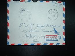 LETTRE En FM OBL.13-2 1956 PERIGOTVILLE CONSTANTINE+ 2me R.A.C. 2me Batterie + Exp. R. FROSSARD - Marcophilie (Lettres)