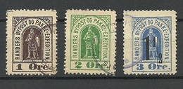 DENMARK 1887 RANDERS Lokalpost Local City Post O - Ortsausgaben