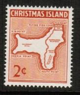 CHRISTMAS ISLAND  Scott # 11* VF MINT LH (Stamp Scan # 488) - Christmas Island
