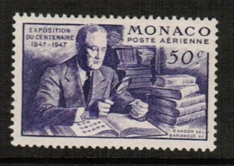 MONACO  Scott # C 16* VF MINT LH (Stamp Scan # 488) - Unused Stamps