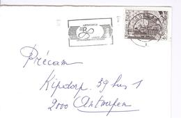 1977 - Enveloppe Van Tournai Met Zegel OBP 1858 - Kast Stempel ANNEE INTERNATIONALE RUBENS - Lettres & Documents