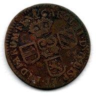 Pays -Bas - Espagnol  - Brabant  - Namur -    Liard   --  1692  -  état  TB+  -  Rare - [ 1] …-1795 : Periodo Antico