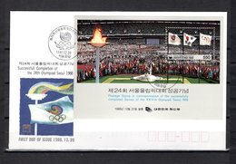 Corea Del Sur    1988   .-    Y&T  Nº   422    Block - Corea Del Sud