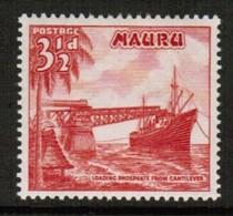 NAURU  Scott # 41* VF MINT LH (Stamp Scan # 488) - Nauru