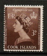 COOK ISLANDS  Scott # 145* F-VF MINT HINGED (Stamp Scan # 488) - Cook Islands