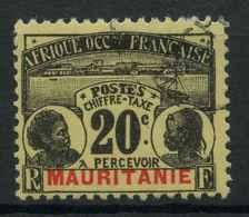 Mauritanie (1906) Taxe N 12 (o) - Oblitérés