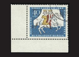 Berlin 1965, Michel-Nr. 269, Wohlfahrt 1965, 40 Pf., Eckrand Links Unten, Gestempelt - Gebraucht
