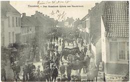 THOUROUT - Den Haanhoek Tijdens Een Peerdefeest - N° 10321 - Uitg. P.V.B.W. - Torhout