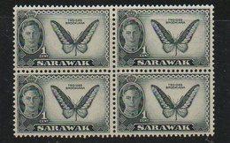 1950 SARAWAK Butterfly** - Farfalle