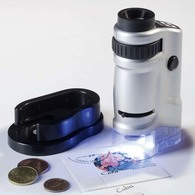 Zoom-Mikroskop Mit LED 20- Bis 40-fach - Pinzetten, Lupen, Mikroskope
