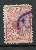 DENMARK Dänemark KOLDING Lokalpost Local City Post Stadtpost - Ortsausgaben