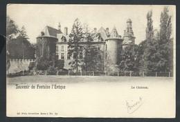 +++ CPA - Souvenir De FONTAINE L'EVEQUE - Le Château - Nels Série 5 N° 24   // - Fontaine-l'Evêque