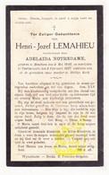 DP Henri J. Lemahieu ° Houthem Comines-Warneton 1842 † Voormezele Ieper 1927 X Adelaïda Notredame - Santini