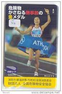 La Grèce Reliée - GREECE Related (46) - Télécarte Japon Telefonkarte Phonecard Japan - ATHLETIC OLYMPIC GAMES 2004 - Sport