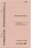 FAL5 - TIMBRES FICTIFS - CARNET POUR L'ENSEIGNEMENT - SERVICE DES GUICHETS ANNEE 1985 - Phantom
