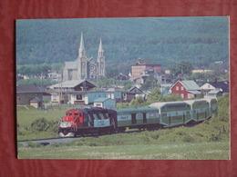 LE TORTILLARD DU SAINT LAURENT QUEBEC CHARLEVOIX ETE 1984 - Trains