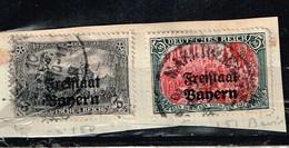 Lot Bavière Anciens Timbres à Identifier - Postzegels