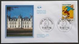 FDC 2000 - YT N°3303 - JOURNEE DU TIMBRE / TINTIN - PARIS - FDC