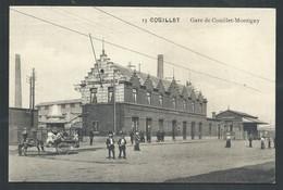 +++ CPA - Gare De COUILLET - MONTIGNY - Statie    // - Charleroi