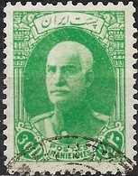 1936 Riza Sh Ah Pahlavi - 30d - Green FU - Iran