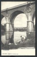 +++ CPA - FLORENVILLE - Pont Du Chemin De Fer - Laveuses    // - Florenville