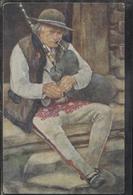 CPA - JOUEUR De CORNEMUSE - KOBZIARZ (barde Itinérant) - Carte Illustrée A. Augustynowicz (Peintre Polonais) - Pologne