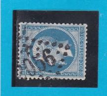 N° 22  GC  2056   LISIEUX  / 13 - CALVADOS  - REF 14116 + Variété - 1862 Napoleon III