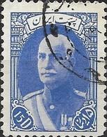1938 Riza Sh Ah Pahlavi - 15d - Blue FU - Iran