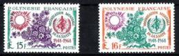Polinesia Francesa Nº 60/61 En Nuevo - Polinesia Francesa