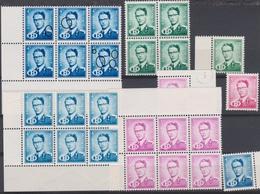 Belgique 1954 - SERVICE - **  - Roi Baudoin Avec Lettre B - - Dienstzegels