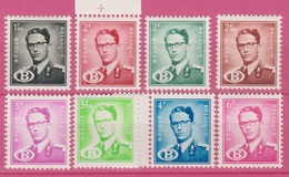 Belgique 1954 - SERVICE - ** -  COB S57-S63 - Série Complete - Roi Baudoin Avec Lettre B - 78€ - Dienstzegels
