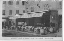 "(CORSE) AJACCIO ""BAR DU CASINO "" - Ajaccio"